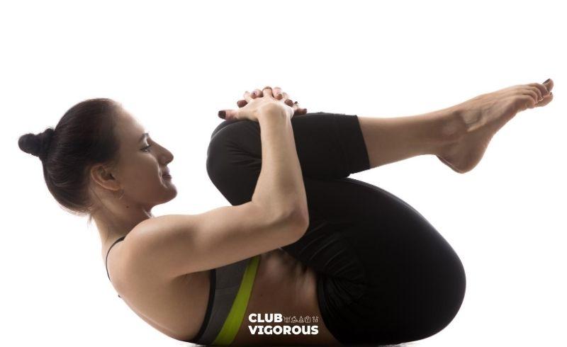 9-knee-hugs-pose-for-back-pain