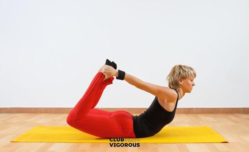 14-Bow-Pose-yoga-poses to-correct-bad-posture
